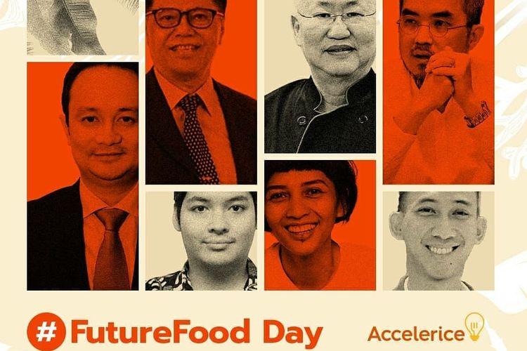 Webinar Future Food Day yang digelar Accelerice, Senin (24/8/2020).