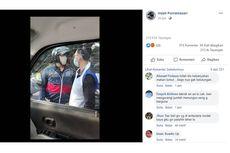 [KLARIFIKASI] Viral Video Pengendara Motor Disebut Adang Ambulans di Depok