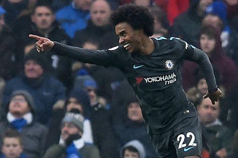 Pelatih Baru Chelsea Tidak Senang Willian Terlambat Gabung Latihan