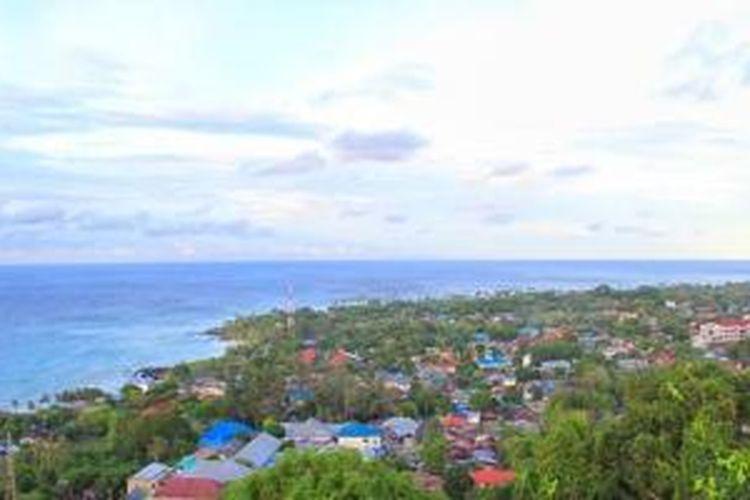 Kota Sabang di Pulau Weh, Aceh.
