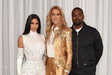 Celine Dion Jadi Kejutan Kanye West untuk Kim Kardashian