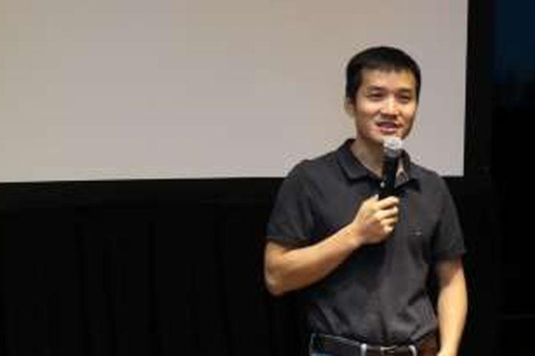 CEO OnePlus Pete Lau menjadi salah satu pembicara dalam acara Qualcomm 4G/5G Summit di Hong Kong, Senin (17/10/2016).