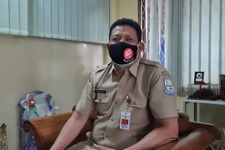 Kepala Dinas Kesehatan Kabupaten Purbalingga, Jawa Tengah, Hanung Wikantono saat ditemui di ruangannya, baru-baru ini.