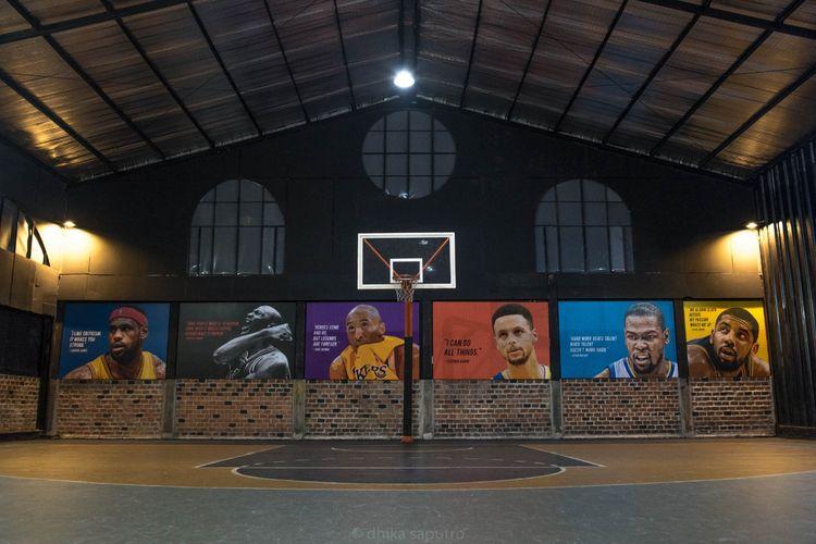 Homecourt Basketball Cinere, salah satu mitra Gelora.id dalam penyediaan aktivitas olahraga luar ruang dan lapangan siap booking.