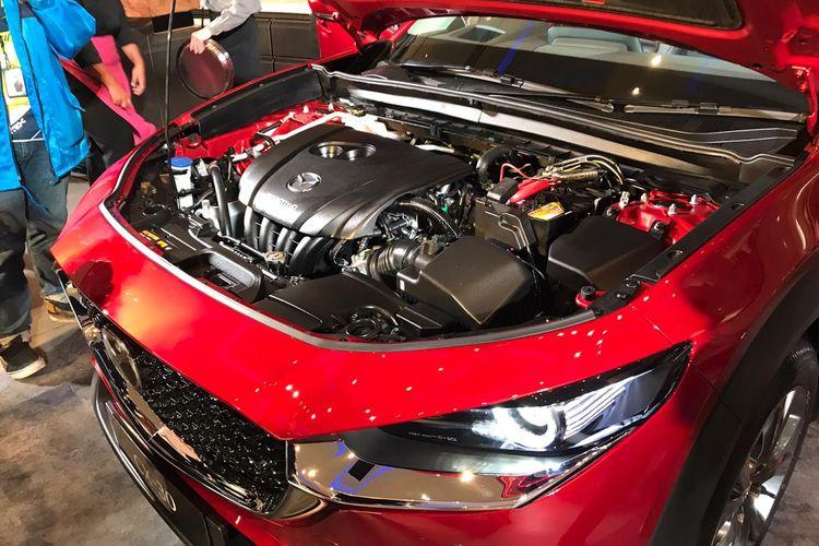 Mazda CX-30 menggunakan mesin berteknologi SKYACTIV-G dengan kapasitas 2.000 cc.