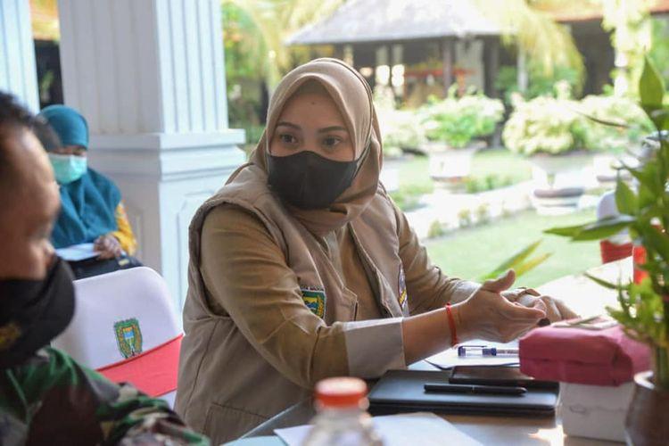Wakil Wali Kota Madiun Inda Raya.