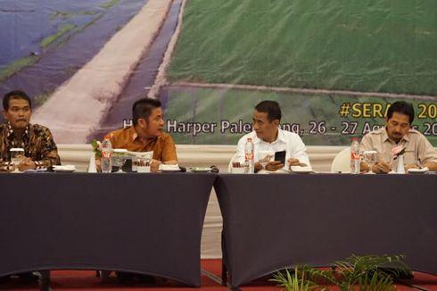 Gubernur Sumsel Apresiasi Program Serasi yang Dijalankan Kementan