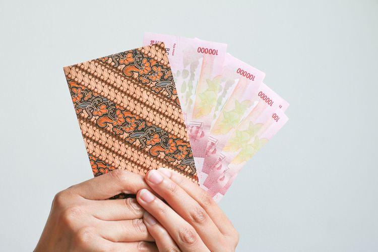 Ilustrasi gaji, rupiah, bantuan pemerintah, bantuan karyawan