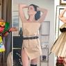 Mengintip Sederet Gaun Kreatif nan Seksi, Berbahan Kantong Belanja
