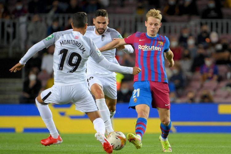 Pertandingan pekan keempat Liga Spanyol 2021-2022 antara Barcelona dan Granada di Stadion Camp Nou, Selasa (21/9/2021) dini hari WIB.