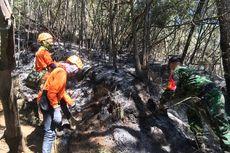 Hari Ketiga, Kebakaran Gunung Panderman Tersisa Satu Titik