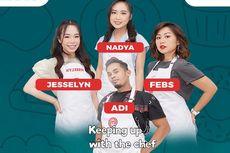 LINK LIVE STREAMING MasterChef Indonesia Season 8 Hari Ini: Lord Adi dkk Bakal Menjamu Raffi-Atta