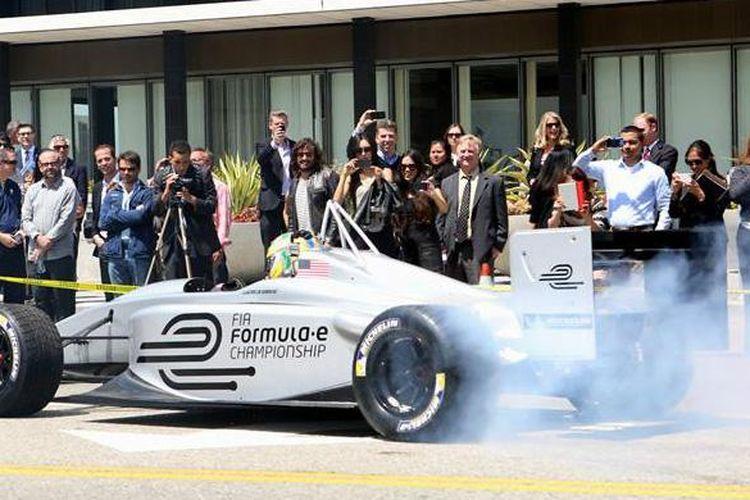 Demo Formula E di Las Vegas pada awal minggu bulan ini