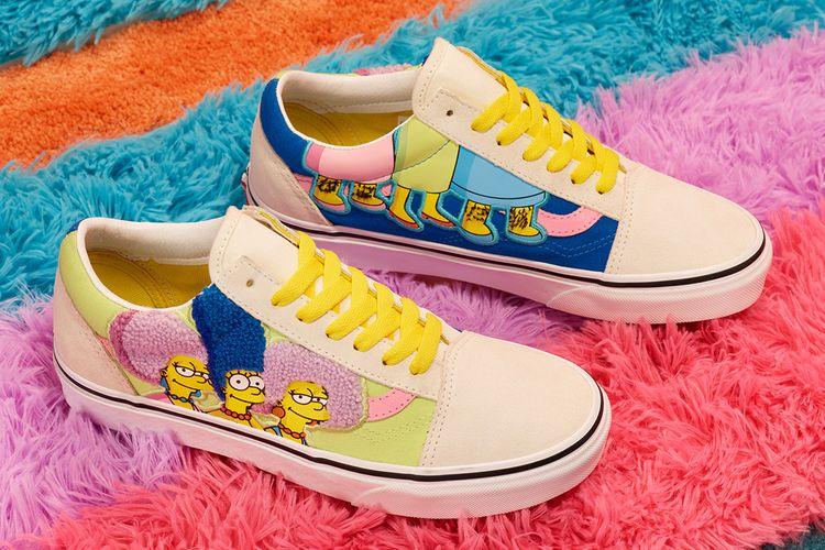 Koleksi kolaborasi Vans x the Simpsons
