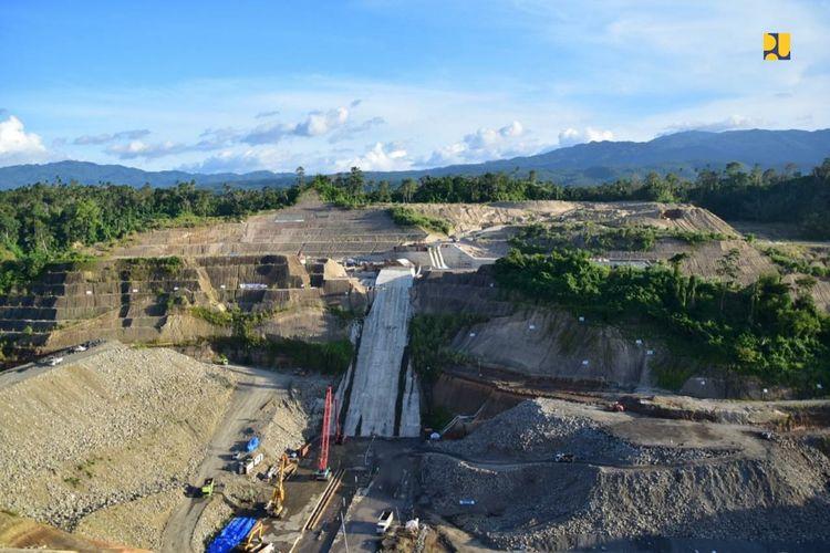 Bendungan Kuwil Kawangkoan, Kabupaten Minahasa Utara, Provinsi Sulawesi Utara.
