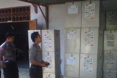 KPUD Kediri Distribusikan Logistik Pilgub Jatim