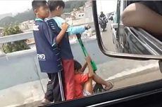Tanggapan Grab soal Bocah Pakai Otoped Listrik di Jalan Layang Pasupati Bandung