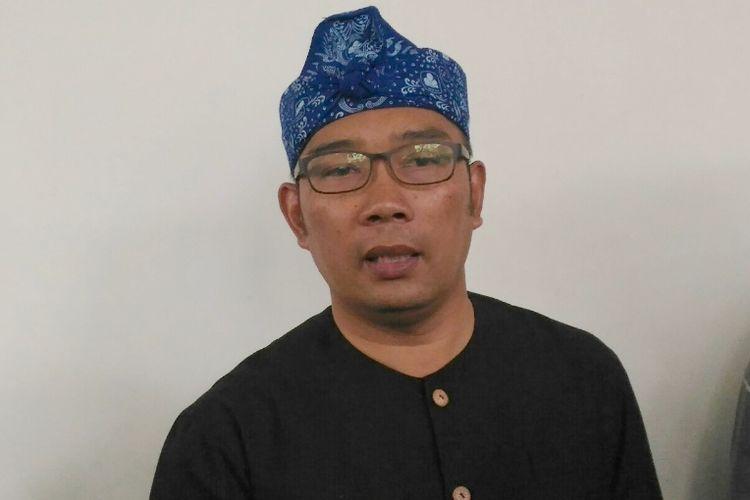 Wali Kota Bandung Ridwan Kamil saat ditemui di Pendopo Kota Bandung, Jalan Dalemkaum, Rabu (5/4/2017)