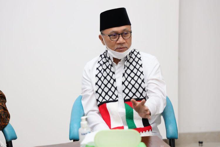 Ketua Umum Partai Amanat Nasional (PAN) Zulkifli Hasan.