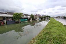 Akibat Hujan Intensitas Tinggi, Tanggul di Kali Leduk Kota Tangerang Jebol Sepanjang 7 Meter