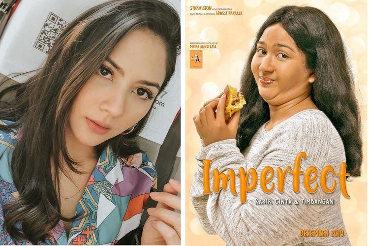 Artis peran Jessica Mila menjadi pemeran utama dalam film Imperfect.