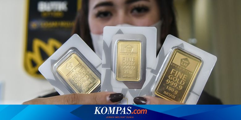 Simak Daftar Lengkap Harga Emas Antam Hari Ini