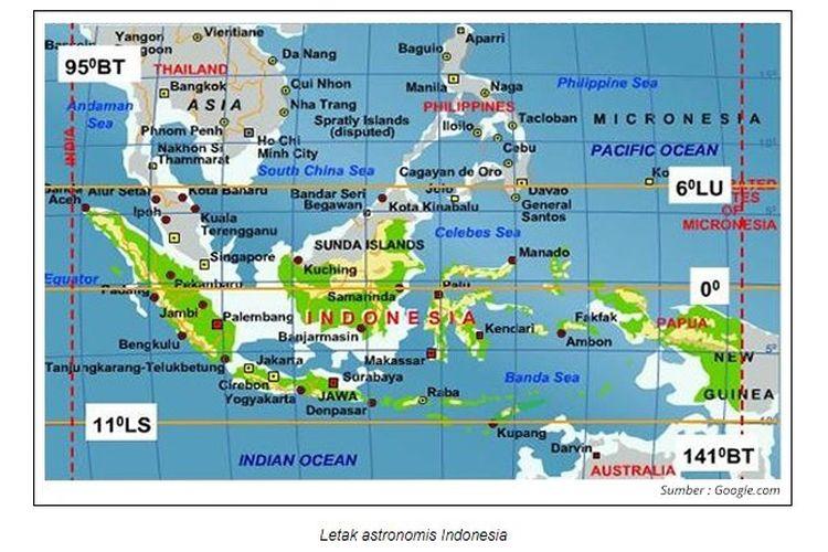 Pengaruh Letak Astronomis Indonesia Halaman All Kompas Com