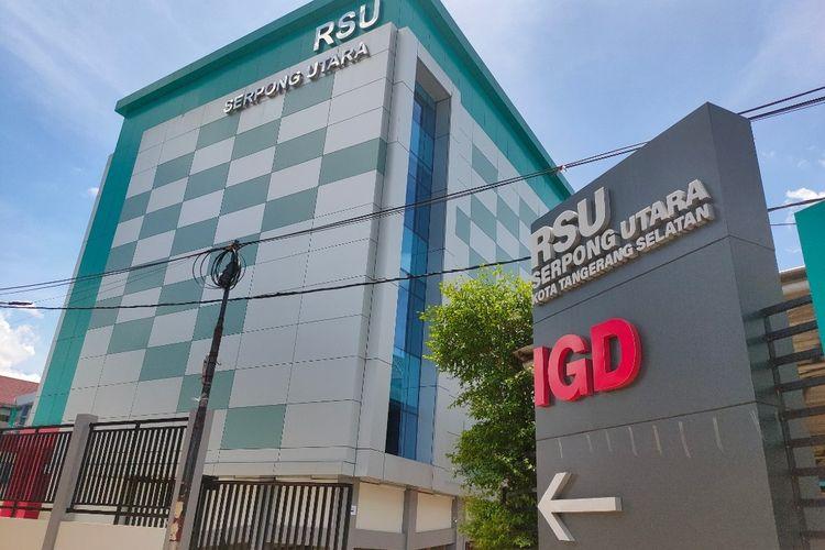 Gedung Rumah Sakit Umum (RSU) Serpong Utara yang akan dijadikan tempat perawatan pasien Covid-19.