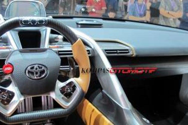 Toyota Ft 1 >> Kabin Futuristik Toyota Ft 1 Khusus Untuk Sang Pilot