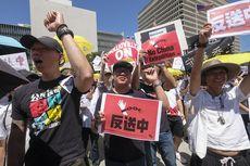 Warga Hong Kong Gelar Unjuk Rasa Menentang UU Ekstradisi ke China