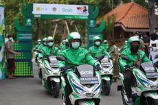 Grab Operasikan 30 Motor Listrik dan 7 SPBKLU di Bali