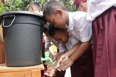Lebih dari 600 Pelajar SD di Serang Ramai-Ramai Cuci Tangan, Ada Apa?