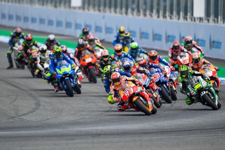 Mandalika Racing Team (MRT) Indonesia dikabarkan akan berpartisipasi pada kategori Moto2 dalam ajang MotoGP 2021 di Mandalika, Lombok, Nusa Tenggara (Dok. Shutterstock/mooinblack)