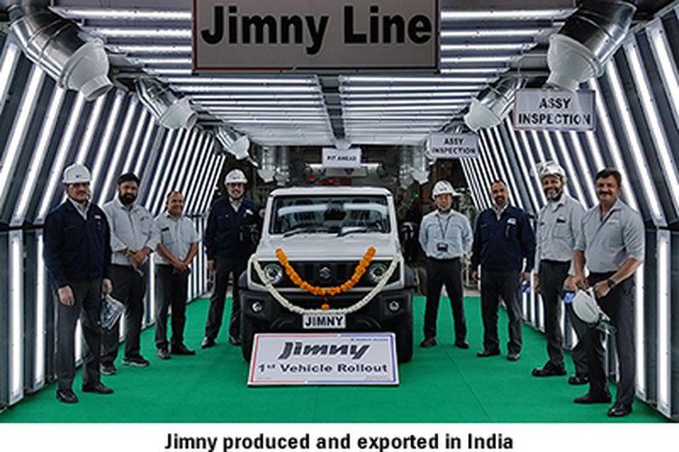 Suzuki Jimny resmi diproduksi oleh Maruti Suzuki India