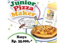 Makan Gratis Sambil Belajar Bikin Pizza