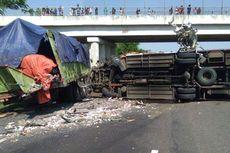 Tabrakan Beruntun di Tol Cipali KM 150, Lalu Lintas ke Cirebon Sempat Macet, Kini Lancar Kembali
