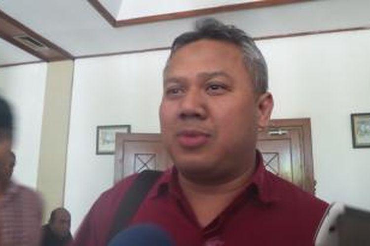 Komisioner Komisi Pemilihan Umum Arief Budiman.