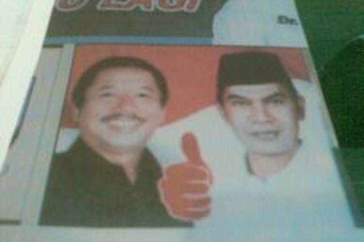 Draft kertas suara bergambar jempol yang diprotes pasangan Soekarwo-Gus Ipul.