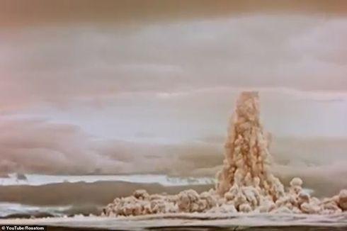 Rusia Rilis Uji Coba Bom Tsar, Hasilkan Ledakan Nuklir Terbesar Dunia