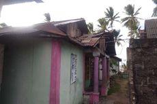 Angin Puting Beliung Rusak Masjid dan Belasan Rumah Warga