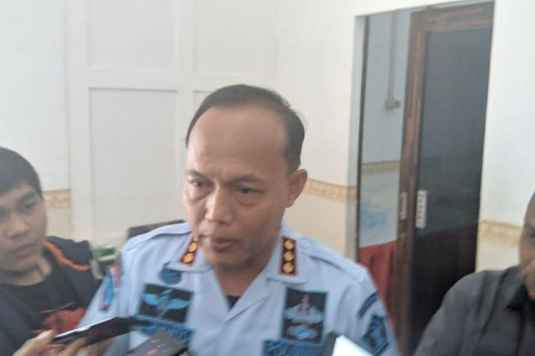 Kepala Lapas Pemuda Kelas II Tangerang, Supriyanto di Lapas Pemuda Kelas II Tangerang, Kamis (27/2/2020)