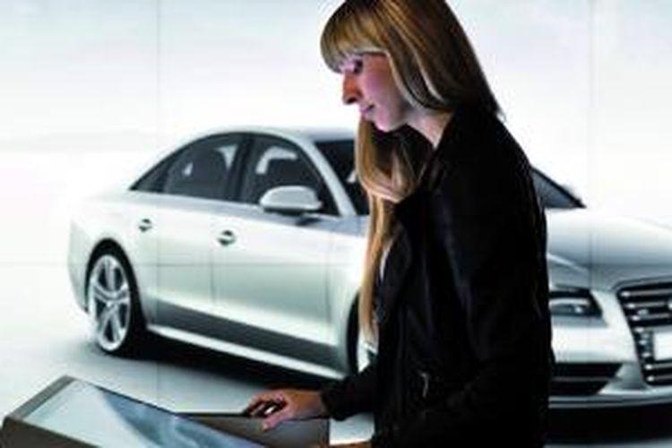 Showroom digital Audi