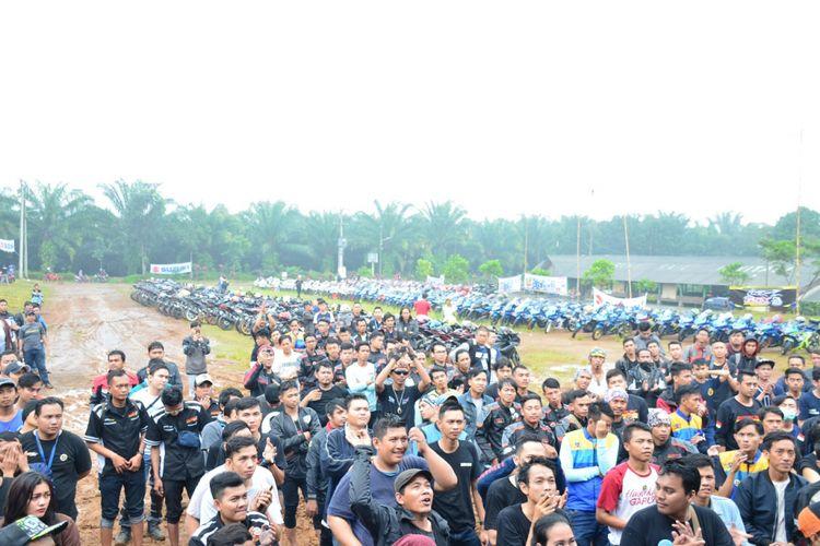 Perayaan ulang tahun perdana GSX Community pada 18 Maret dilakukan di Subang, Jawa Barat.