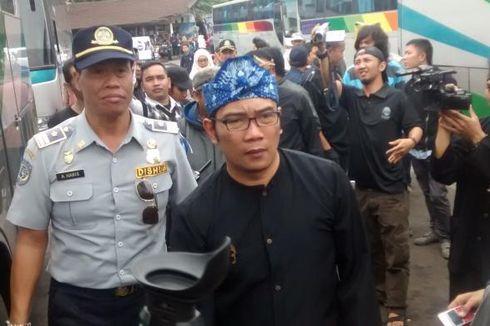 Ridwan Kamil Cek Kelayakan Bus Mudik di Terminal Cicaheum