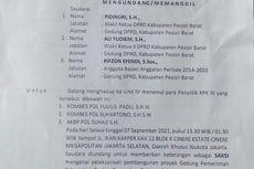 KPK: Surat Panggilan terhadap Anggota DPRD Pesisir Barat Palsu