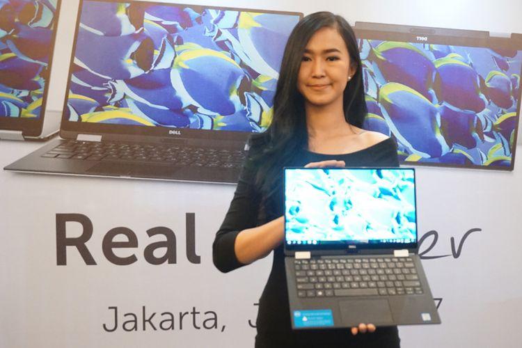 Laptop 2-in-1 Dell XPS 13 resmi dirilis di Indonesia, Selasa (18/7/2017).