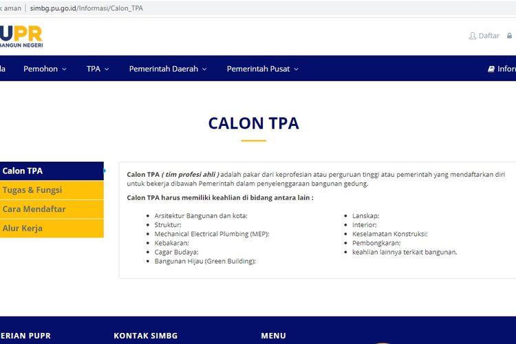 Sistem Informasi Manajemen Bangunan Gedung (SIMBG)