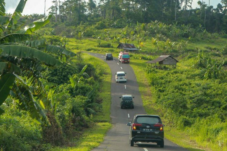 Jalan nasional di Kabupaten Maluku Tenggara Barat, Provinsi Maluku.
