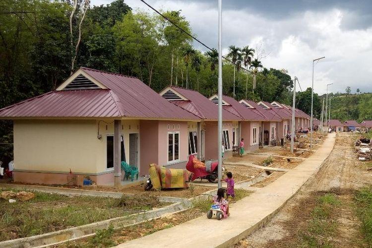 Pembangunan 25 unit rumah khusus (rusus) di Kabupaten Ogan Ilir Sumatera Selatan, Provinsi Sumatera Selatan.