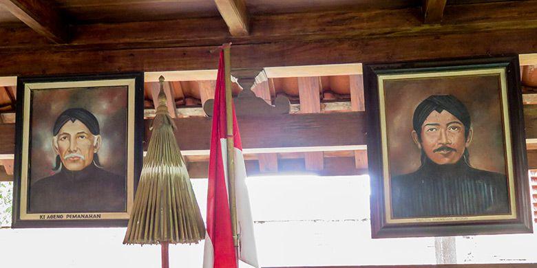 Foto Ki Ageng Pemanahan (Kiri) dan Raja Pertama Mataram Islam, Danang Sutawijaya atau Panembahan Senopati (Kanan).
